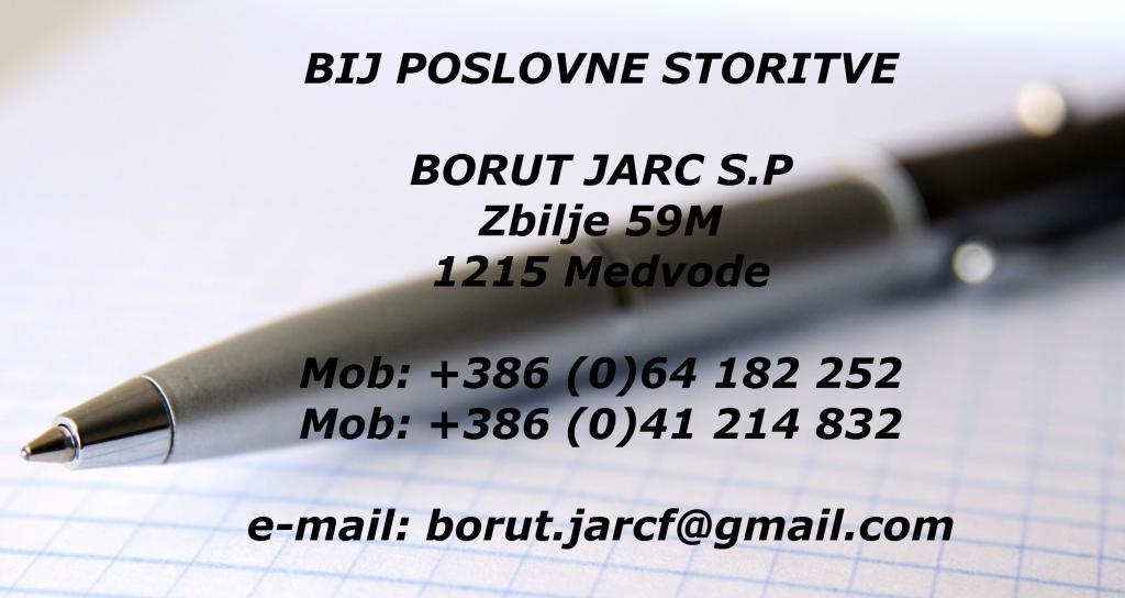 Bij Poslovne storitve Borut Jarc, Medvode gallery photo no.0
