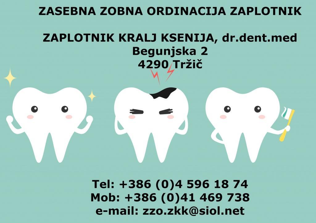 Zasebna zobna ordinacija Zaplotnik, Otroško zobozdravstvo Tržič gallery photo no.0