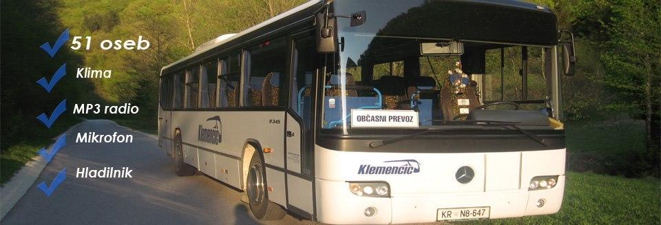 Avtobusni in kombi prevozi Klemenčič, Gorenja vas gallery photo no.5