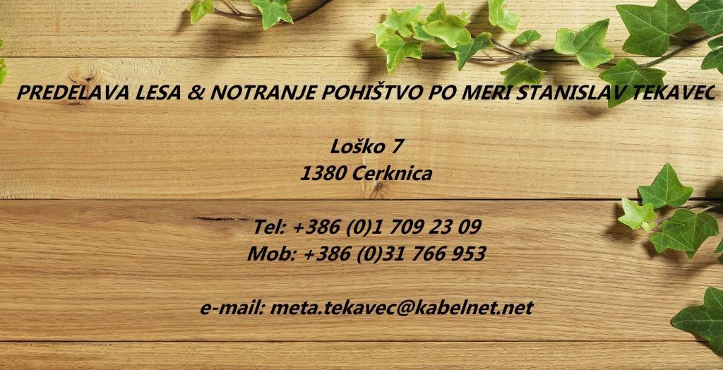 Predelava lesa Stanislav Tekavec, izdelava lesenih klopi po meri notranje pohištvo po meri, Cerknica gallery photo no.0