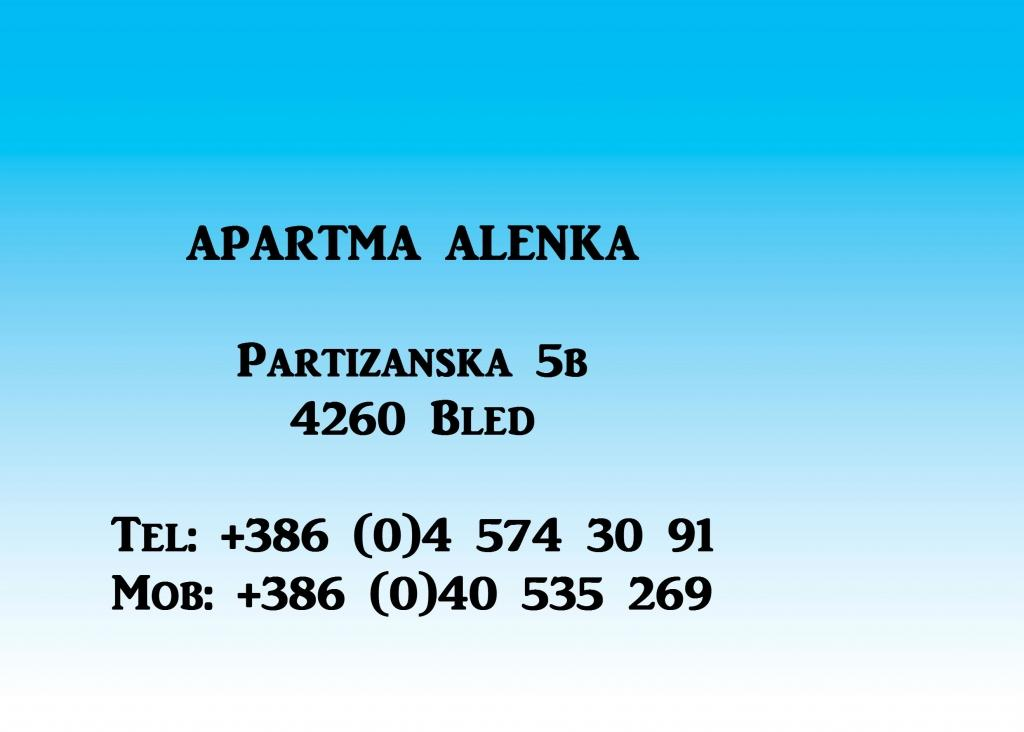 Apartma Alenka, Bled gallery photo no.0