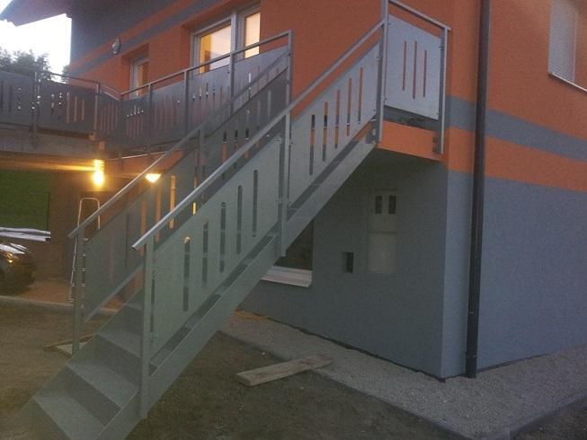 Ograje, nadstrešek in kovinske stopnice Roman Orehek, Litija gallery photo no.5