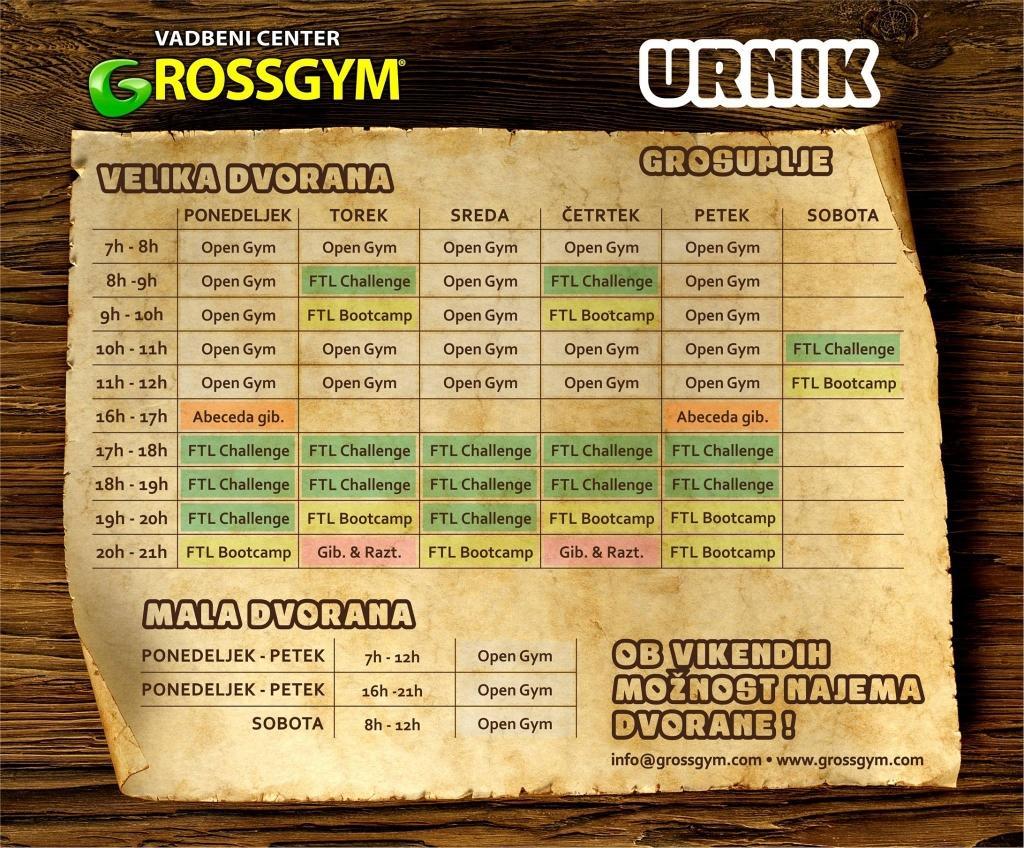 Urnik - product image