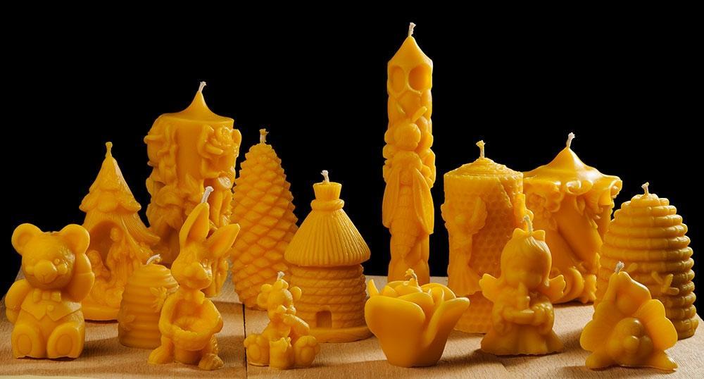 Sveče iz čebeljega voska - product image