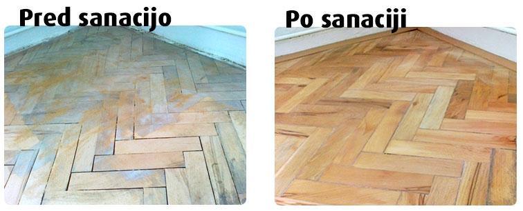 Sanacije parketov - product image