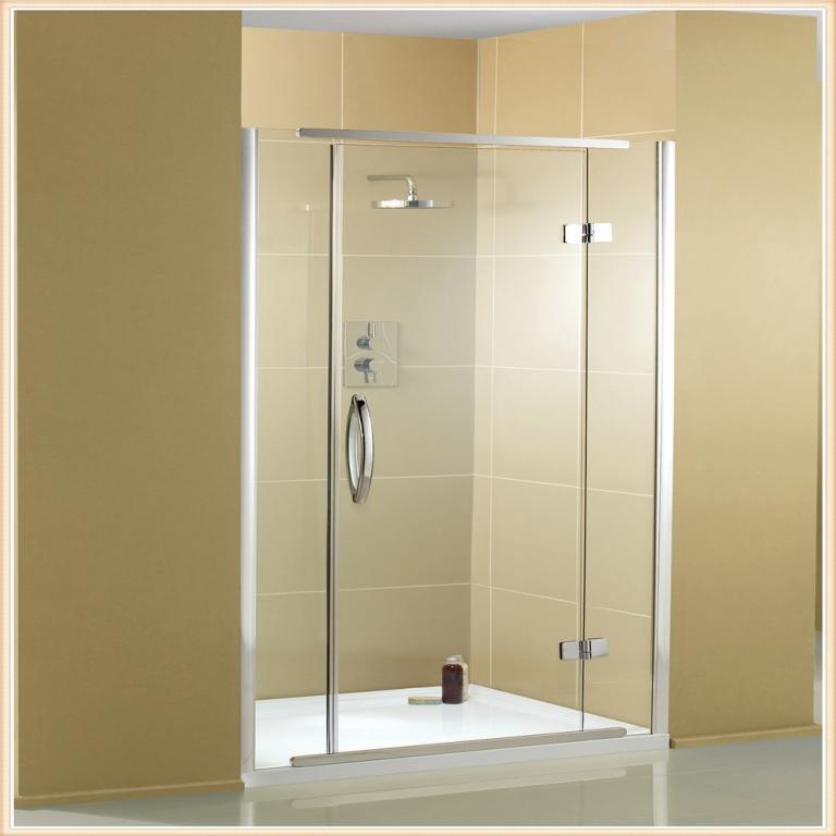 Tuš kabine iz aluminija in stekla - product image