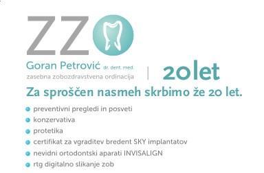Zobozdravstvene storitve - product image
