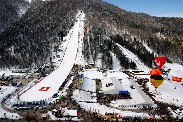 Bled and one of the biggest ski jump in the world - product image