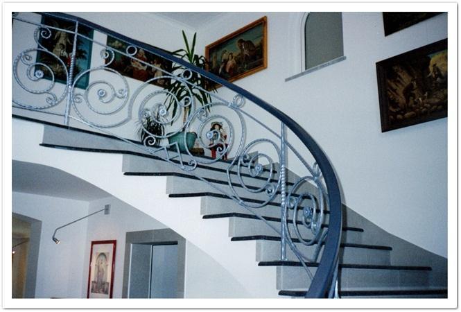 Notranje in zunanje stopniščne ograje - product image