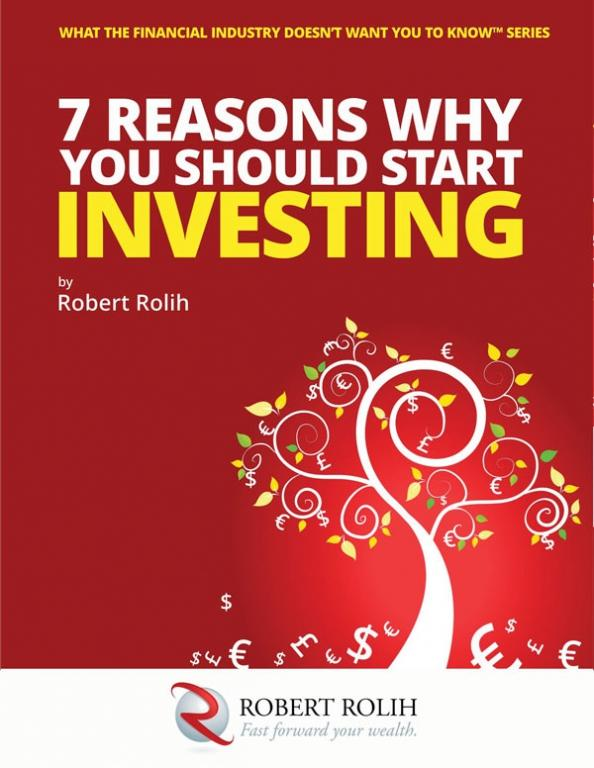 International Bestseller: 7 REASONS WHY YOU SHOULD START INVESTING by Robert Rolih - product image