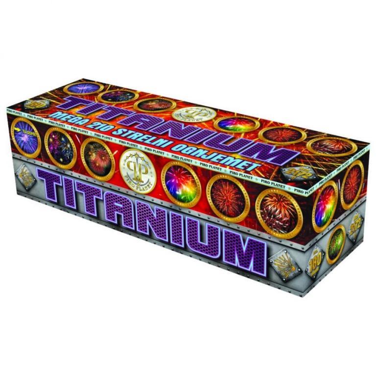 Titanium komplet ognjemetnih baterij - product image