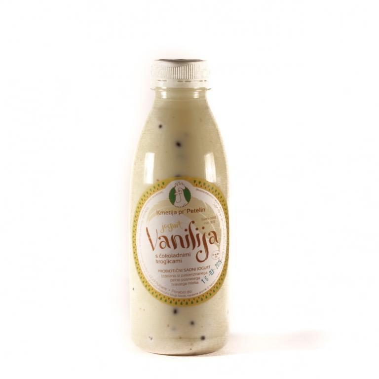 Domači jogurt Vanilija s kroglicami - product image