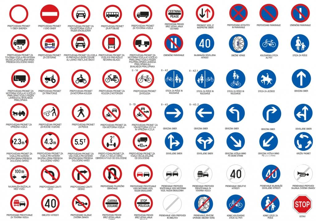 Prometni znaki - product image