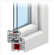 Pvc okna IDEAL 8000 - product image