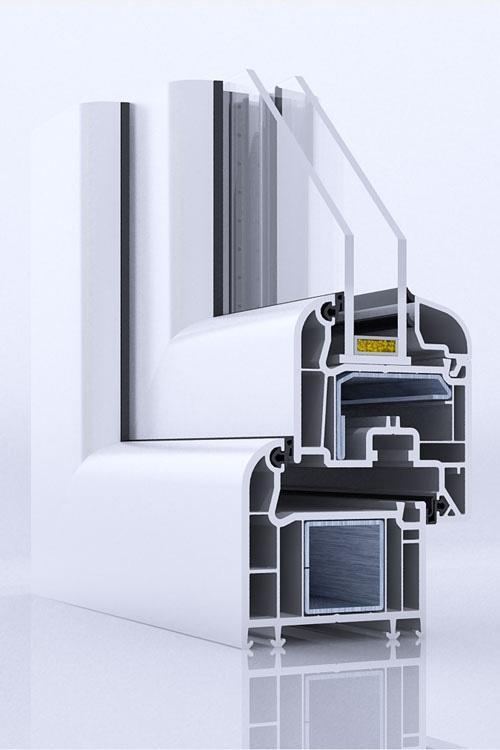 PVC stavbno pohištvo  - product image