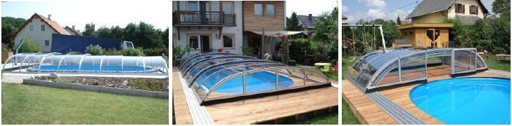 Standardne bazenske strehe - product image