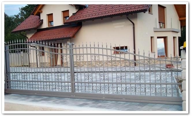 Vrtne kovinske ograje - product image