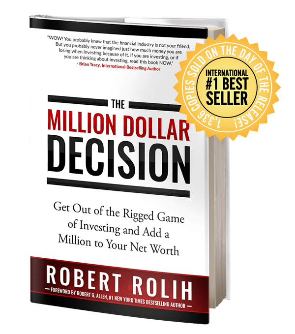 International Bestseller: THE MILLION DOLLAR DECISION - product image