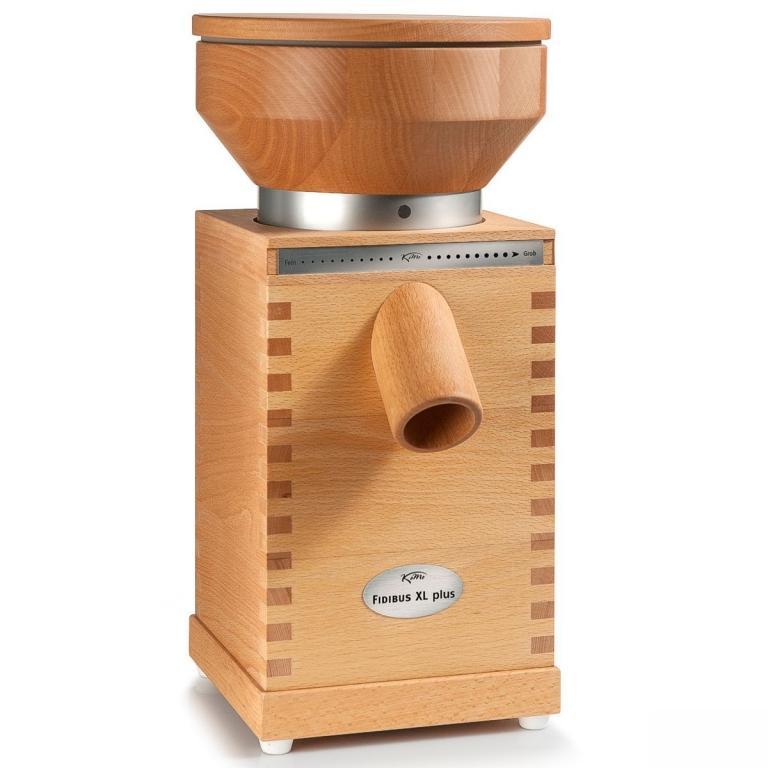 Fidibus Medium – električni namizni mlin na kamne – zlata izbira - product image