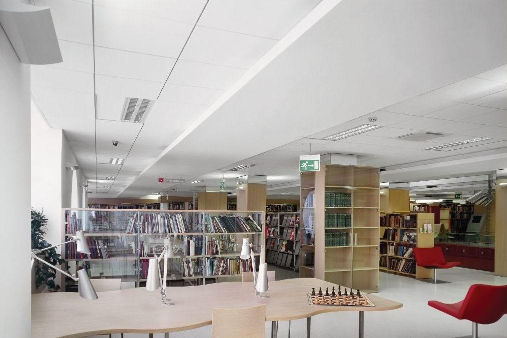 Akustični mineralni strop z indirektno svetlobo - product image