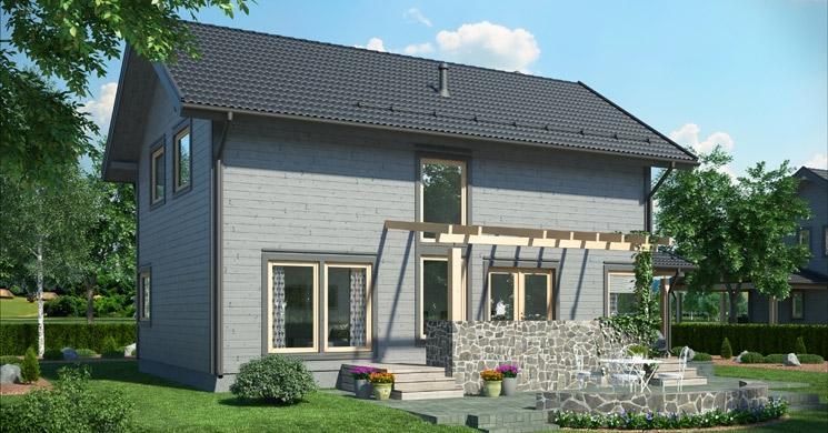 Hiša Scandium Eos 142 - product image