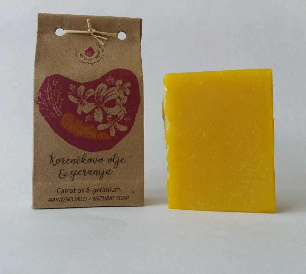 Korenčkovo olje – geranija za suho kožo - product image