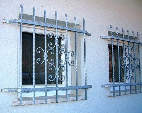 Kovane okenske mreže in rešetke za okna - product image