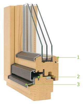 Lesena okna - product image