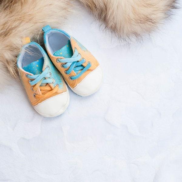 Otroški čeveljčki - Blue Sahara - product image