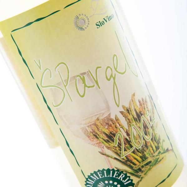 Špargljevo vino malvazija - product image