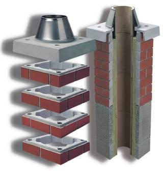 Schiedel OBLOŽNI elementi in FINAL elementi za zaključek dimnika - product image