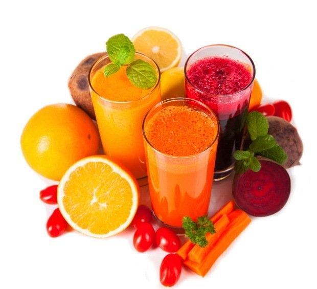 Sveži sadni in zelenjavni sokovi - product image