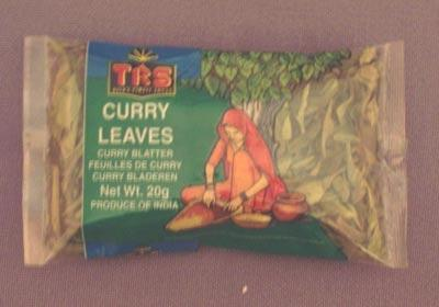 Curry listi suhi 20g - product image