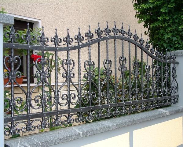 Kovana vrtna vrata in kovane vrtne ograje - product image