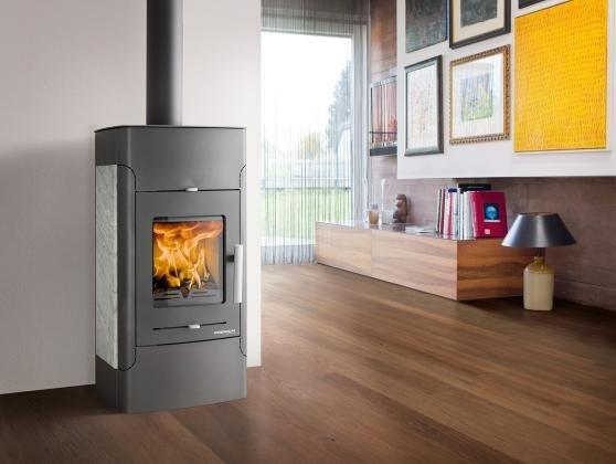 Haas+Sohn kaminske peči na drva s priklopom za centralno ogrevanje - product image