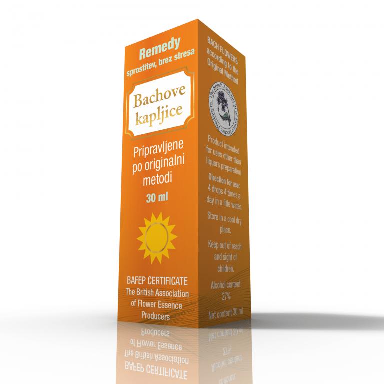 Bachove kapljice (Remedy): Sprostitev – brez stresa - product image