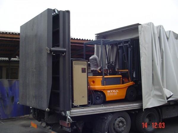 Prevoz delovnih strojev, viličarjev - product image