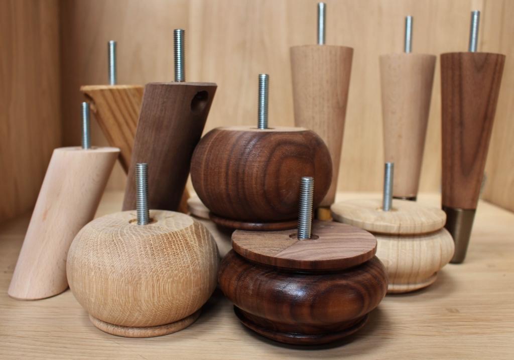 Lesene nogice za pohištvo - product image