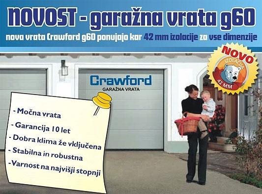 Garažna vrata Crawford g60 - product image
