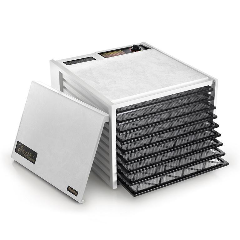 SUŠILNIK – DEHIDRATOR EXCALIBUR – 9 etaž bel polna vratca brez timerja - product image