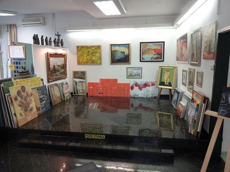 Galerija ročno slikanih oljnih slik na platnu - product image