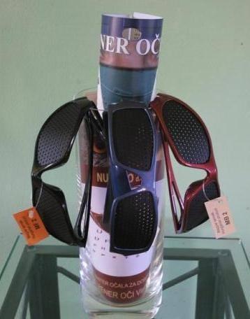 Raster očala (rastrska očala ali očala z luknjicami) - product image