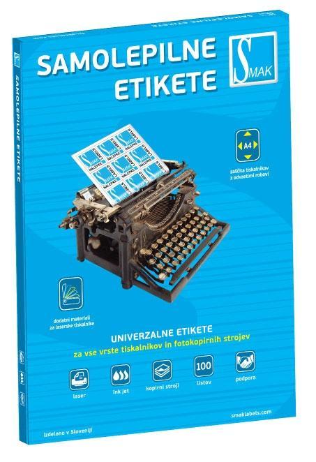 Samolepilne etikete SMAK - product image