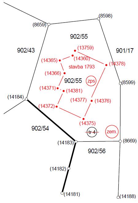 Določitev zemljišča pod stavbo in vpis stavbe v kataster stavb (evidentiranje stavbe) - product image