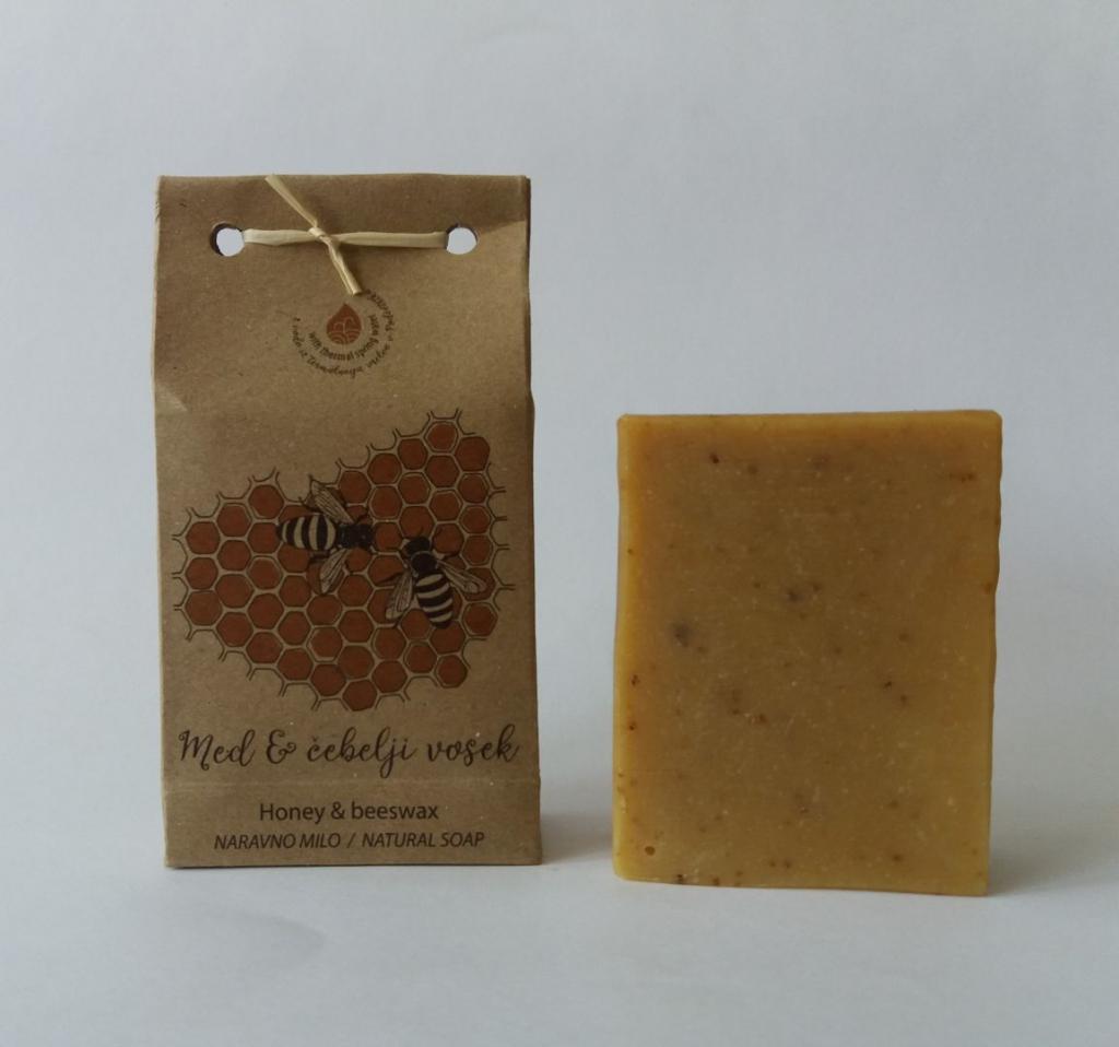 Med – čebelji vosek za občutljivo kožo - product image