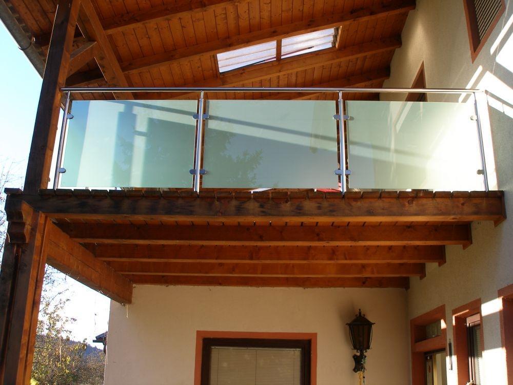 Zunanje ograje s steklom - product image