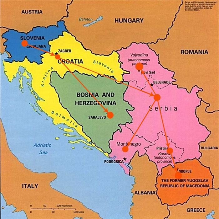 Poslovalnice v Državah bivše Jugoslavije - product image