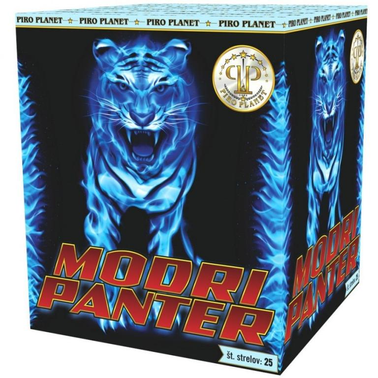 Modri panter ognjemetna baterija - product image