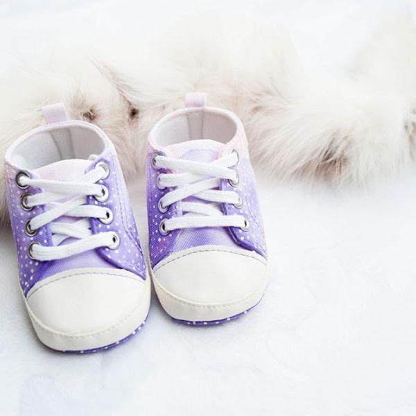 Poslikani otroški čeveljčki za deklice - product image