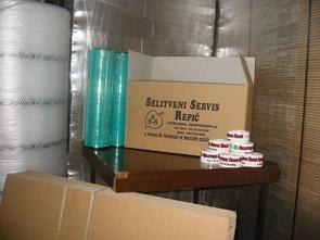 Embalaža in zaščitni material - product image